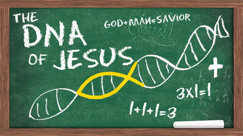 The DNA of Jesus